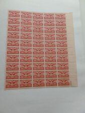 United States Scott C40 the 6 cent Alexandria Bicentennial sheet of 50  MInt