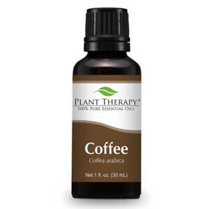 Plant Therapy Coffee Essential Oil 30 mL (1 oz) 100% Pure, Undiluted