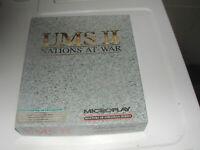 UMS 2 ii Vintage 5.25 Inch Floppy IBM PC Game