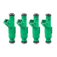 Set (4) 42LB 440cc EV1 New Green Fuel Injectors Replace 0280150558 0280155968
