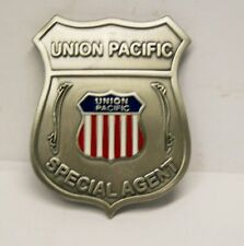 Reproduced Unusual -- Union Pacific Special Agent <> Railroad Badge <> logo