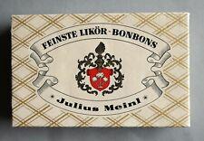 Originale Julius Meinl Likör Bonbon Schachtel - um 1950