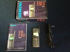 Siemens E10 D - wie NEU & OVP - ohne Simlock
