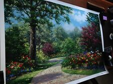Summer Enchantment by Schaefer Miles - Unframed Seriolithograph on paper NEW