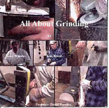 All About Grinding DVD / Bladesmithing / Knifemaking / knives