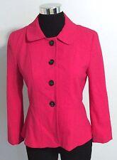 Ann Taylor Peplum Pink Blazer Jacket Women's Size 2