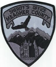 Meagher County Sheriff's Office Montana subdued SWAT Patch
