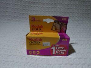 Kodak Gold 35mm Camera Film – Sealed Pack of 3 Rolls 36 Exposures 200 ISO