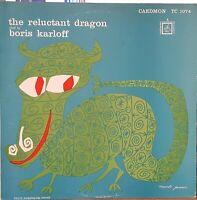 Kenneth Grahame / Boris Karloff – The Reluctant Dragon - 1970 story LP record