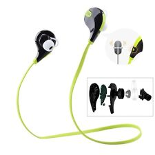 QCY Q-Y7 Noise-Isolation Wireless Bluetooth Headset (Green)