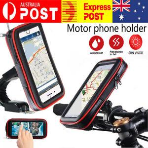 Waterproof Bicycle Bike Motorcycle Handlebar Mount Holder Case For Call Phone