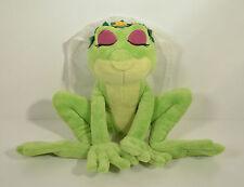 "10"" Princess Tiana as Frog Plush Stuffed Action Figure Disney World Exclusive"