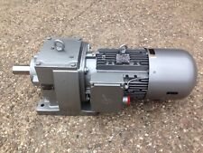 *NEW* NORD SK-132MH/4 AC GEARED DRIVE MOTOR gearmotor 7.5kw/10hp 222rpm BRE100HL