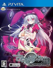 Used PS Vita  Furuiro Meikyuu Rondo: La Roue de fortune Japan Import