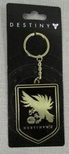 DESTINY 2 Officially Licensed Crest Warlock Metal Keychain Black Gold NEW