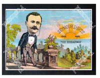 Historic Teddy Roosevelt For Shirts Advertising Postcard