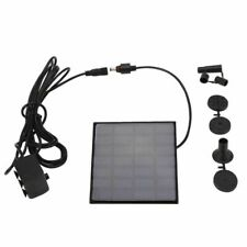 Solar Power Panel Fountain Water Submersible Brushless Pump Kit For Garden Pond