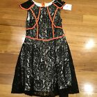 loving things Black Lace dress Size 8 New Bnwt Combined Postage Ok