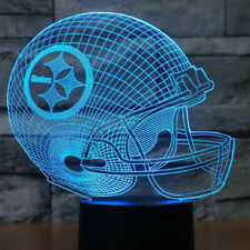 New NFL Pittsburgh Steelers Football 3D Light Free Rush Shipping from California