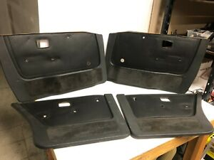 BMW E28 Door Cards Black