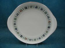 Royal Doulton Tapestry TC1024 Handled Cake / Cookie Plate