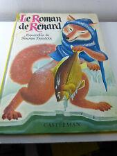 le roman de renard , aquarelles de simonne baudoin , 1958 ,(pie08)