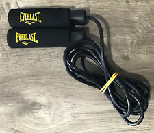Everlast 9 Ft (2.7 M) Deluxe Speed Rope Exercise No Twist Bearings Weighted Cord