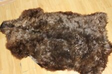 goatskin rug natural skin goatskin carpet Dog bed Cat bed Pet bed