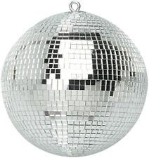 More details for genuine soundlab lightweight silver mirror dance disco party dj ball (200mm 8