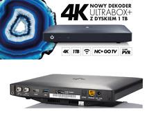 Dekoder 4K z Dyskiem 1TB - Pakiet SUPERPREMIUM - £25  Miesiecznie ULTRA HD