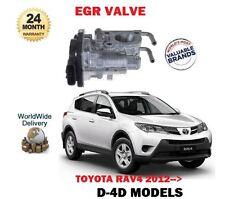 Para Toyota RAV4 2.0 2.2 D4D 2012- > Nuevo Electrónico EGR Rxhaust Válvula de