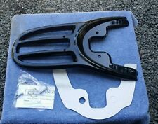 Harley V rod Vrsc Vrod Vrscb VRSCA One Piece BLACK Base Plate & Luggage Rack
