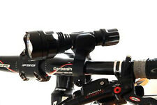 360° Bike Front Lights Bracket Mount Holder Stand For Bicycle Torch Clip Lamp