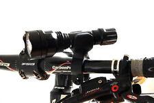 360° Bicicleta Luces Delanteras SOPORTE PARA LINTERNA CLIP LUZ ##