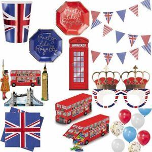 England Party Decoration UK Great Britain London Set Union Jack GB Countries