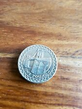 MENAI BRIDGE ONE POUND COIN £1 2005 // VERY RARE UK BRIDGES SERIES //