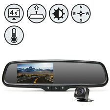 OEM G-Series Rear View Camera System with Auto Dimming, Compass and Temperature