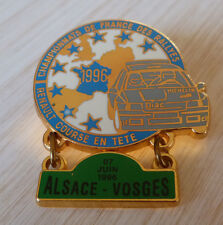 PIN'S RALLYE ALSACE VOSGES TEAM DIAC MICHELIN RENAULT CLIO WILLIAMS FRANCE 1996