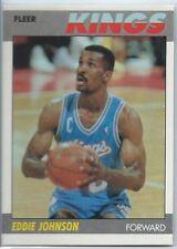 1987-88 Fleer Basketball #55 Eddie Johnson Card NM-MT-MT+