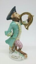 Sitzendorf Monkey Band Musician Figurine HORN PLAYER. In excellent condiiton.