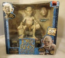 New Lord of The Rings Return of the King Electronic Talking Gollum Toy Biz
