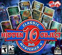 SECRET CITY: LONDON CALLING 10 PACK Hidden Object PC Game DVD ROM NEW
