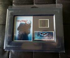 Film Cell Genuine 35mm Framed & Matted Batman Dark Knight Heath Ledger USFC5990