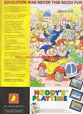 Noddy's Playtime The Jumping Bean Co 1993 Magazine Advert #7279
