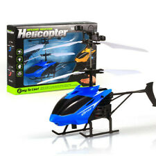 Flying Mini RC Infrared Induction Helicopter Aircraft Hover Toy Hand Control