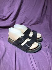 WOMENS BIRKENSTOCK BETULA BROWN ARIZONA BUCKLE SANDAL SZ 5