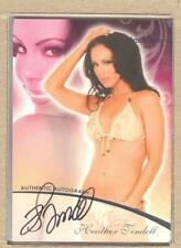 Heather Tindell 13 2007 Bench Warmer Regular Autograph Auto (2. LL Loop)