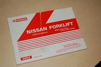 NISSAN KH01 KH02 KCH01 KCH02 FORKLIFT Owner Operator Operation User Manual 1997