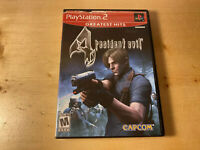 Resident Evil 4 (PlayStation 2, 2005)  Tested Free Shipping