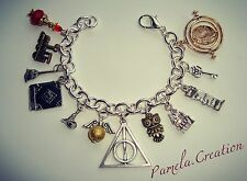 Bracciale TRIANGOLO DEATHLY inspired HARRY POTTER Giratempo